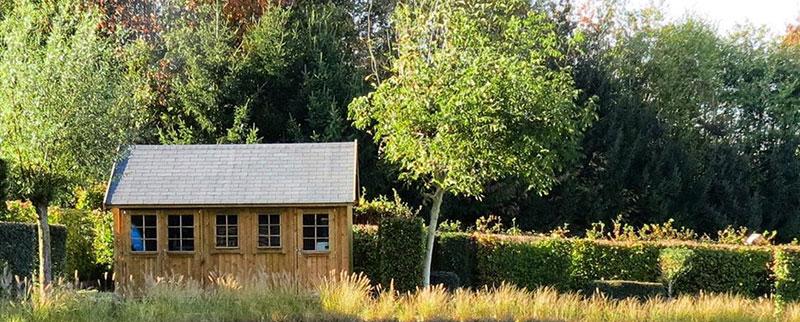 abris jardin plancher