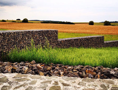clôture pour mur gabion