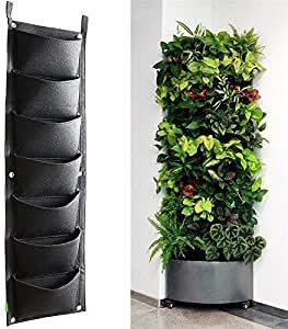 jardinière verticale à poches
