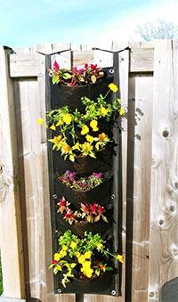 jardinière fleurs verticale