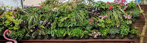 pot jardiniere verticale
