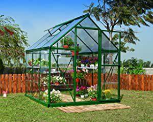 Serre de Jardin Murs an Polycarbonate Transparent
