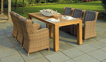 table bois extensible