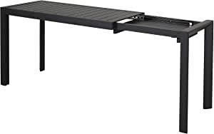 table avec système d'agrandissement
