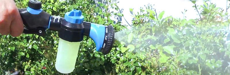 meilleur pistolet d'arrosage pour le jardin avec réservoir