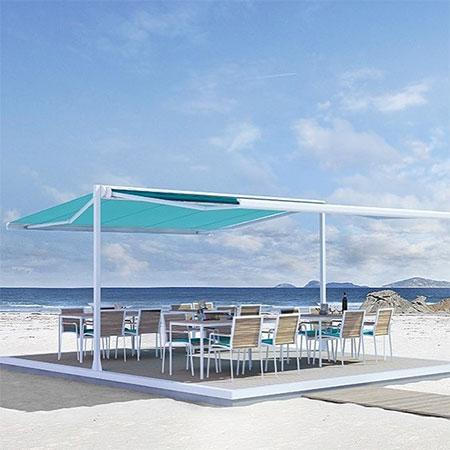 parasol terrasse double ombre
