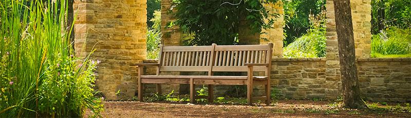 banc d'extérieur pour jardin en bois