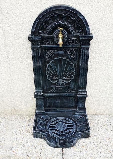 robinet de jardin style fontaine