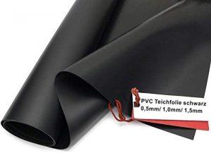 Sika Bâche de bassin en PVC de qualité supérieure - Noir