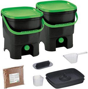 double composteur pour cuisine