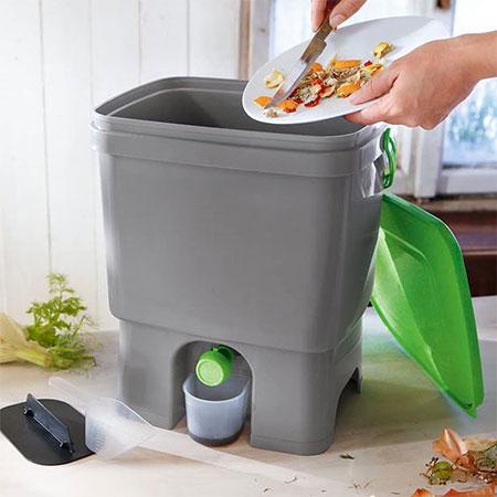 Bokashi Organko déchets