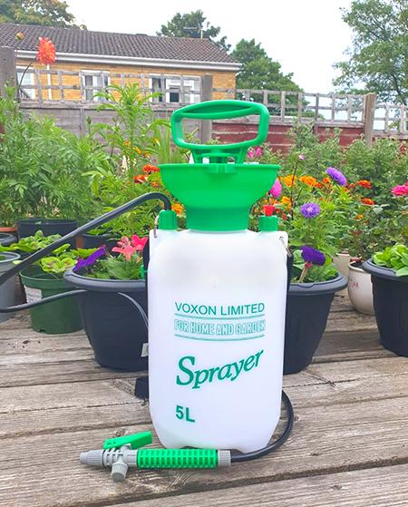 pulvérisateur de jardin à pression 5 litres