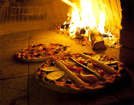 pizza cuite au four