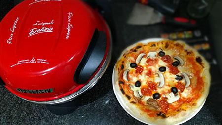 pizza italienne avec four portable electrique