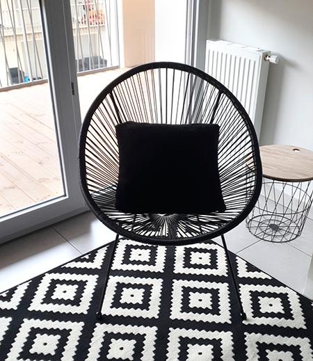 fauteuil design mexicain pour le salon
