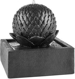 fontaine aspect basalte