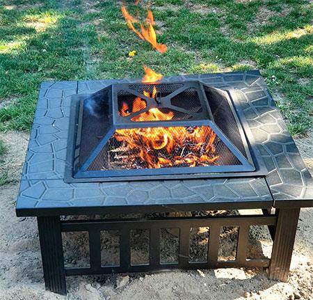 brasero luxe pour le barbecue