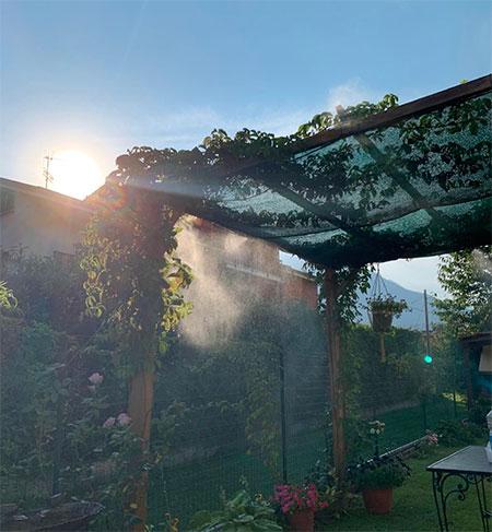terrasse extérieur de jardin