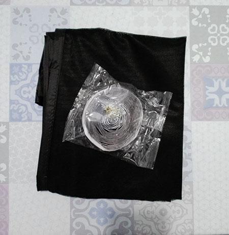 moustiquaire en kit prête à être installée