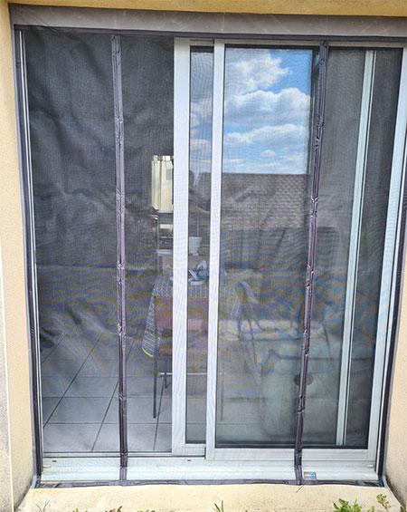 moustiquaire extérieur en fibre de verre