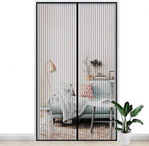 rideaux pour porte anti-moustiques