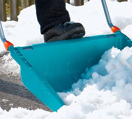 traineau pour retirer la neige gardena